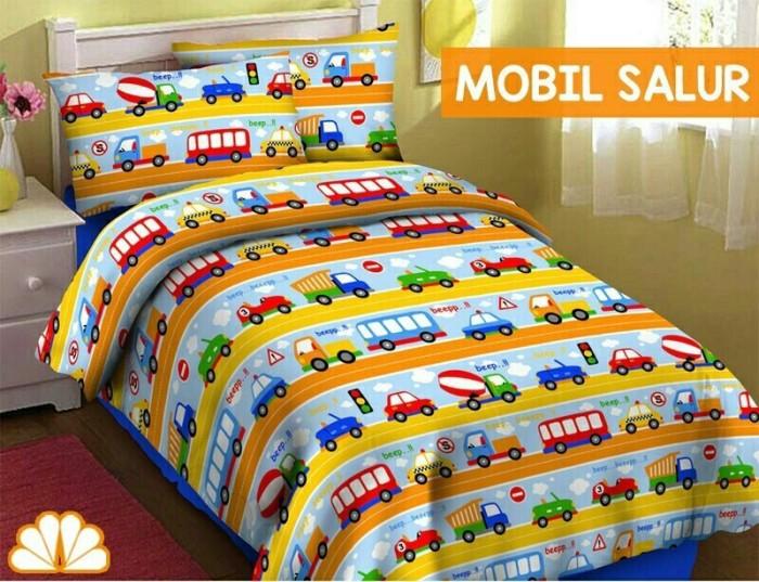 harga Sprei katun karakter mobil salur, 120x200 fortuna, f28 Tokopedia.com