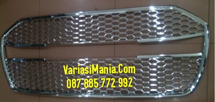 Grill Depan Ayla Model Bentley Full Crome Merek JSL Ori Berkualitas ...