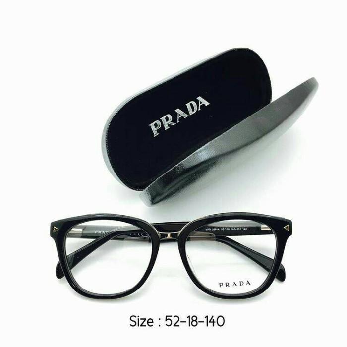 Jual Frame Prada 06 Hitam Kacamata Pria Wanita GRADE PREMIUM Minus ... 9dc3fd2f1b