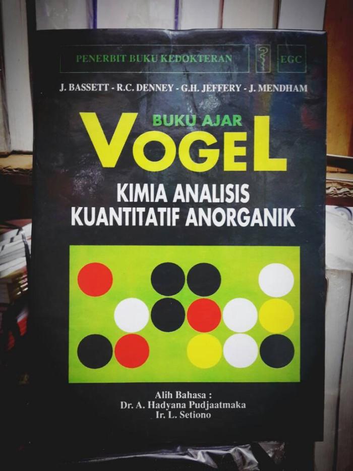 vogel kimia analisis kuantitatif anorganik