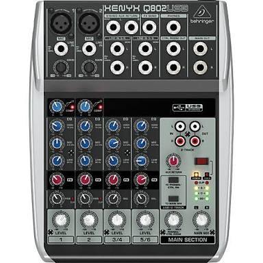 harga Mixer behringer xenyx q802 with usb audio interface Tokopedia.com