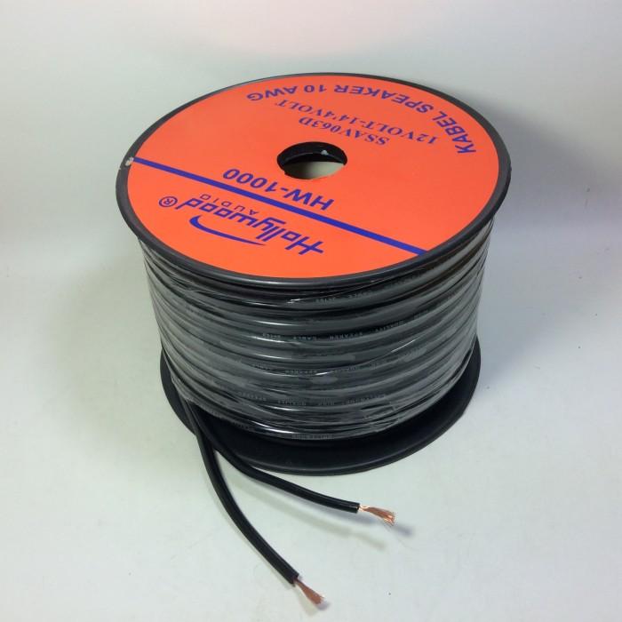 harga Cable speaker 2x100 (10awg) kuaalitas tembaga holiwood hw1000 Tokopedia.com