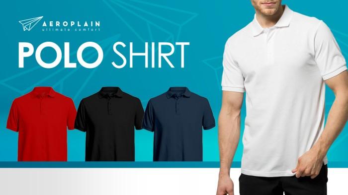 Kaos Polo / Polo Shirt Aeroplain PREMIUM QUALITY