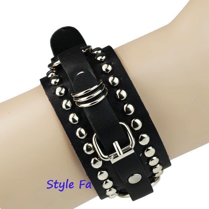 harga Belt punk bracelet gelang punky metal Tokopedia.com