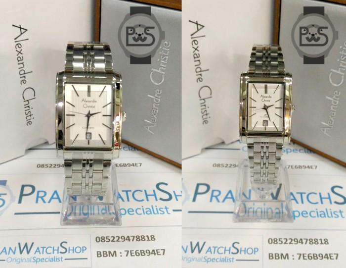 harga Jam Tangan Alexandre Christie Ac 8408 Ss Silver Couple Original Tokopedia.com