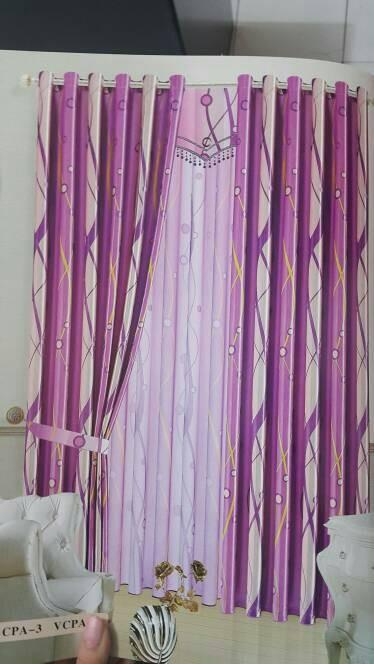 Rumah Minimalis Lantai 2 Nuansa Ungu  jual gorden blackout minimalis model smokering warna ungu purple kota makassar 888 gorden and blinds tokopedia
