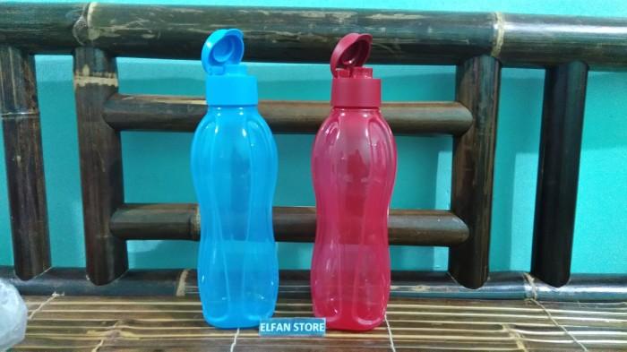 Tupperware Eco Bottle 1 Liter (2Pcs), Botol Minum Tutup Flip