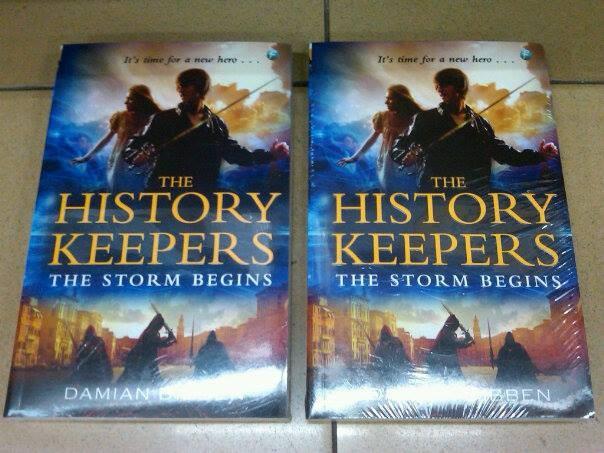 harga History keepers: the storm begins - damian dibben Tokopedia.com