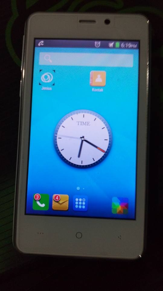 HP ANDROID EVERCOSS A54 SECOND / HP BEKAS / MULUS