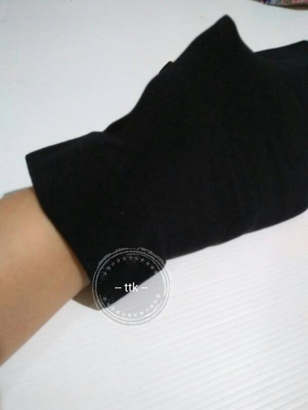 Foto Produk long-socks-stocking-sepaha-kaos-kaki-panjang-hitam dari bajumls