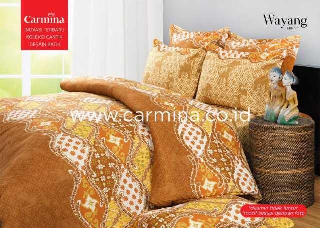 harga Sprei batik carmina wayang 180x200 Tokopedia.com