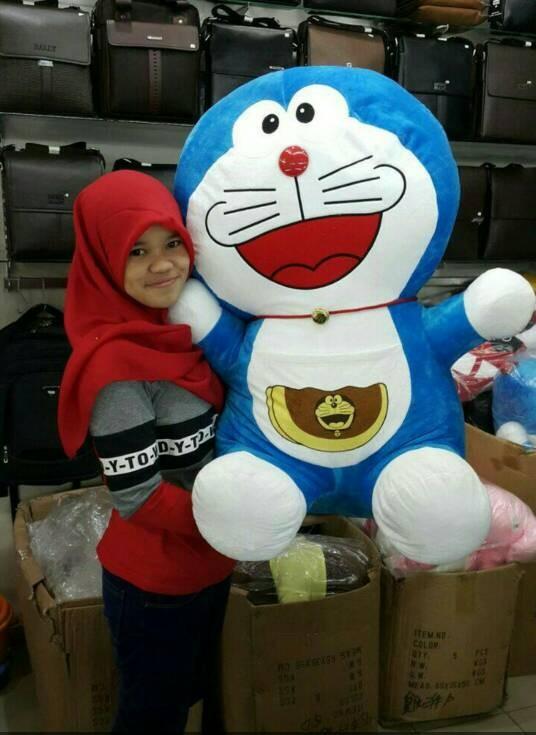 Jual boneka doraemon super besar super jumbo - felicebags88  bdc689bb3e