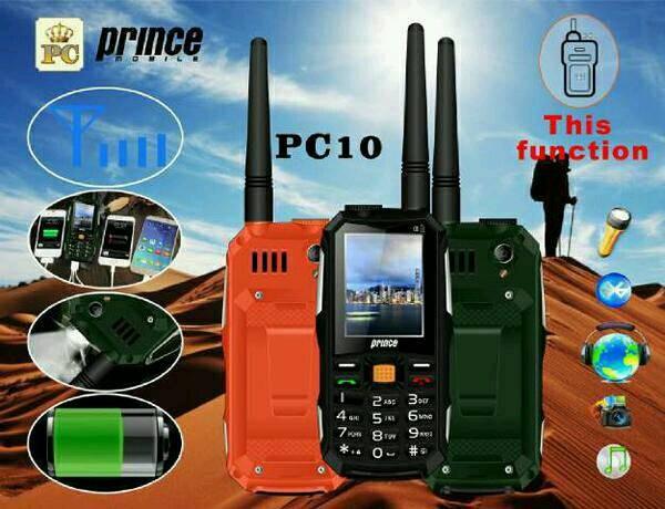 harga Prince pc10 hp bisa ht dan powerbank 12.000 mah Tokopedia.com
