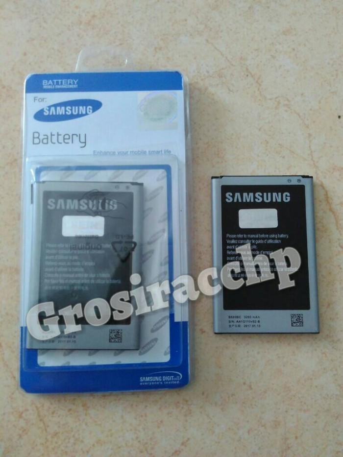harga Baterai battery batre samsung galaxy note 3 original 99% Tokopedia.com