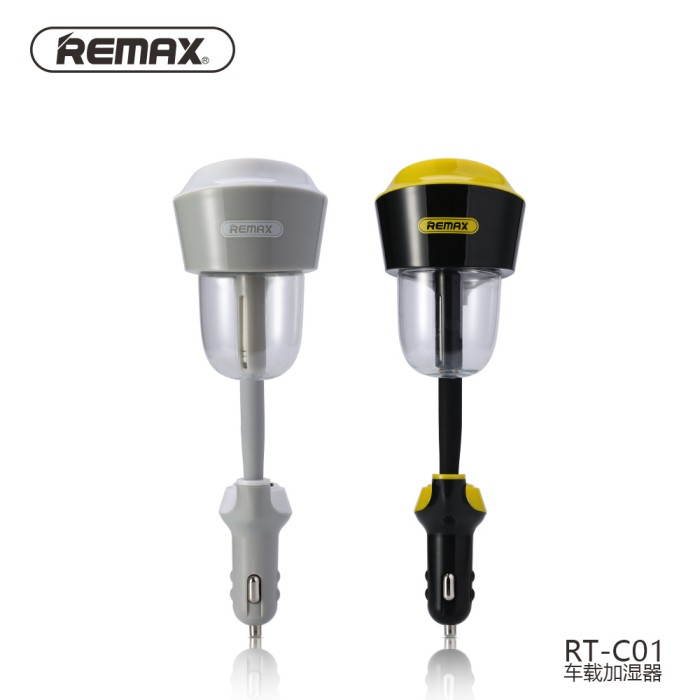 21a Car Charger Source Remax Car Humidifier Atomization Air Purifier with Car Charger .