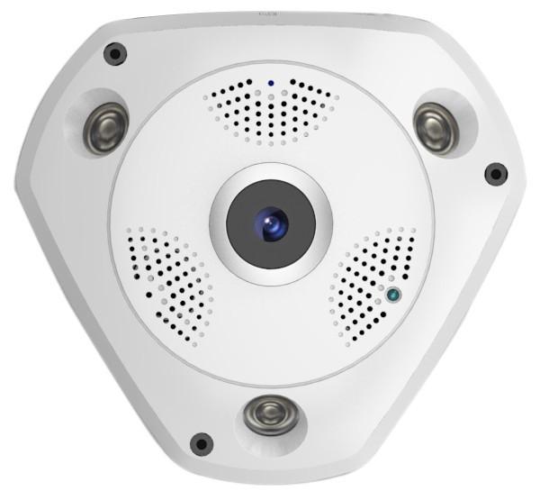 harga Ip camera wireless fish eye 360 panoramic lens vr / kamera panoramik Tokopedia.com