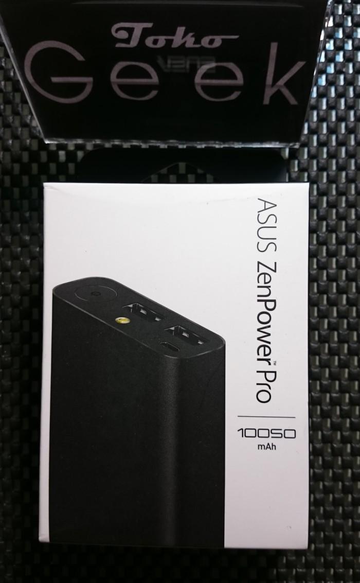 Jual Asus Zenpower Pro Power Bank 10050mah New Black Toko Geek Hitam