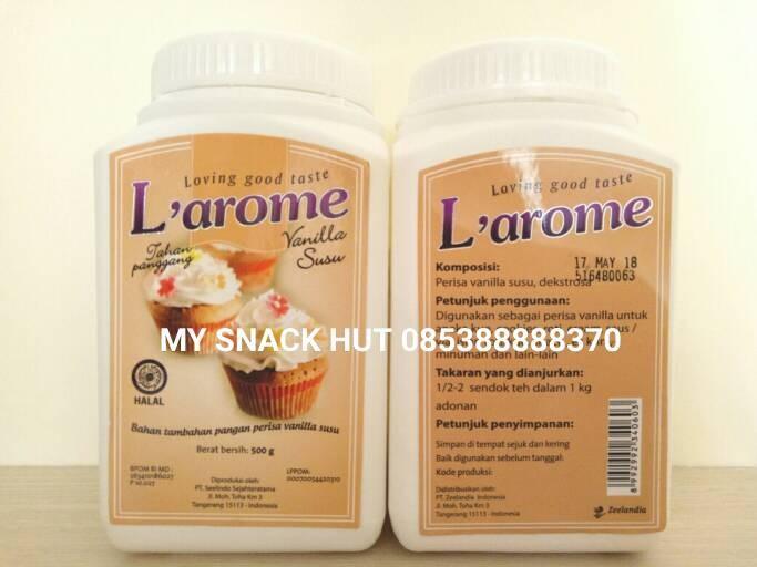harga L'arome perisa vanila susu bubuk tahan panggang/vanilla milk powder Tokopedia.com