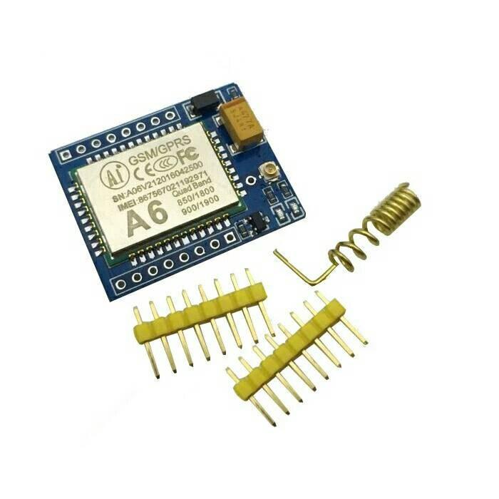 harga A6 gprs gsm module kit wireless ext module board antenna super sim800l Tokopedia.com