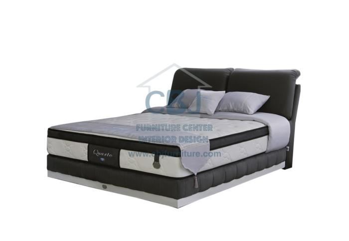 jual spring air kasur springbed quarto full set 200x200 cbj furniture tokopedia. Black Bedroom Furniture Sets. Home Design Ideas