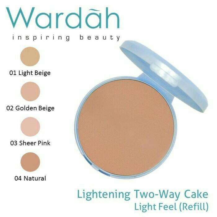 [BPOM] Wardah refill lightening Twc light feel / bedak refill wardah