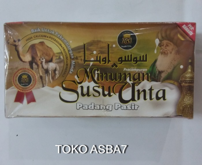 harga Susu Unta 20 Saset Tokopedia.com