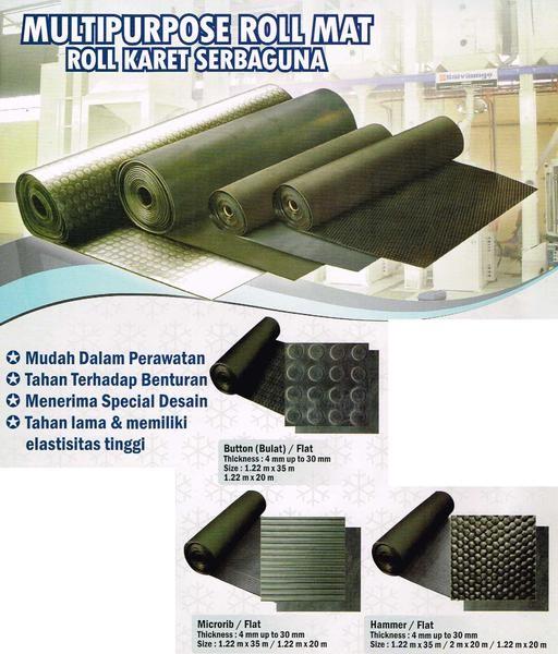 Foto Produk Karpet Karet Serbaguna (50 cm x 120 cm) Baru | Peralatan Rumah Tangga dari Claudia Krystina