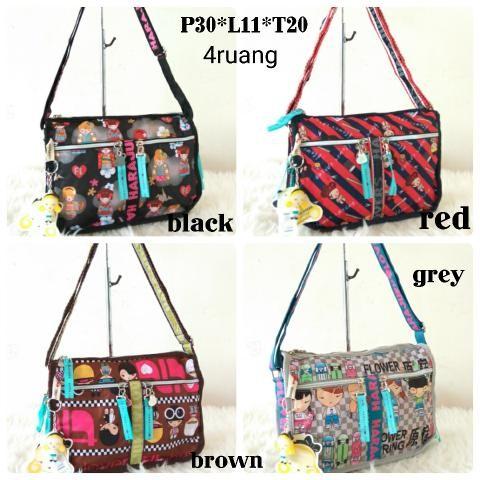 Foto Produk Jual TAS SELEMPANG HARAJUKU LOVERS 4SLET Baru | Sling Bags Wanita dari Claudia Krystina