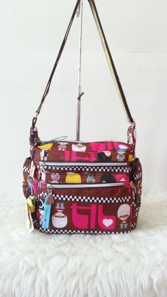 Foto Produk Jual Tas Selempang Harajuku Lovers Baru | Sling Bags Wanita Murah dari Claudia Krystina