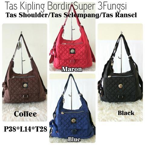 Foto Produk Tas Kipling 3in1/Tas shoulder /Tas Ransel/Tas selempang dari Claudia Krystina