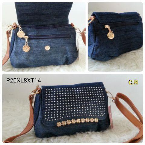 Foto Produk Jual TAS JEANS 2IN1 Baru | Hand Bags Wanita Murah dari Claudia Krystina