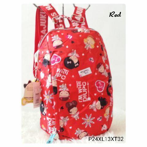 Foto Produk Jual TAS RANSEL HARAJUKU OVAL Baru | Tas Backpack Wanita Murah dari Claudia Krystina