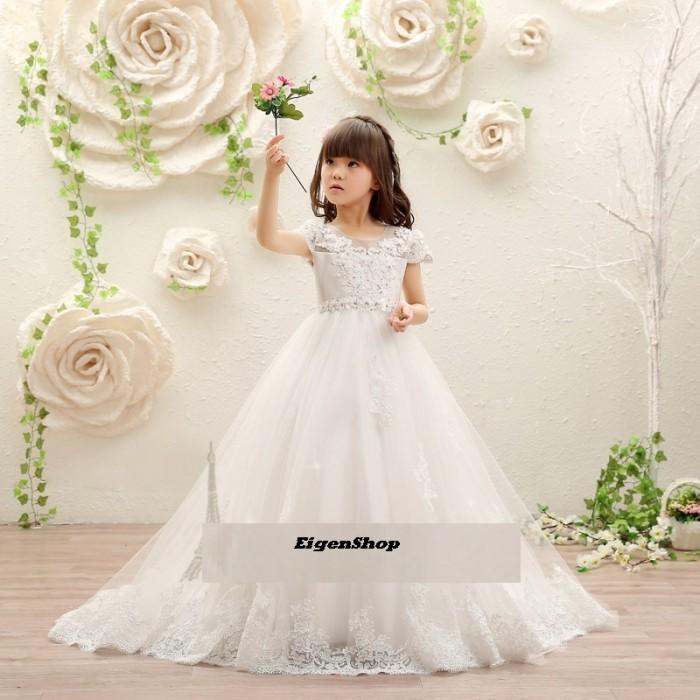 Jual A1612003 Gaun Pesta Anak Gaun Pengantin Anak Dress Anak Kota