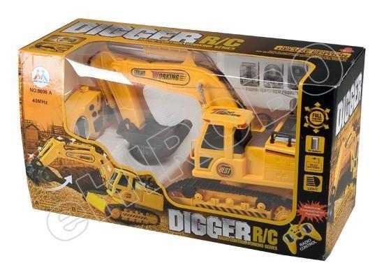 harga Mainan Anak Rc Digger Excavator Tokopedia.com
