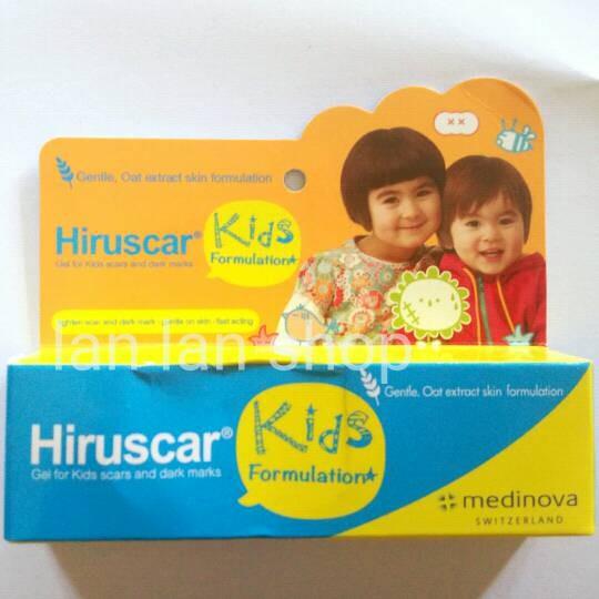 harga Hiruscar kids scar gel penghilang bekas luka anak Tokopedia.com