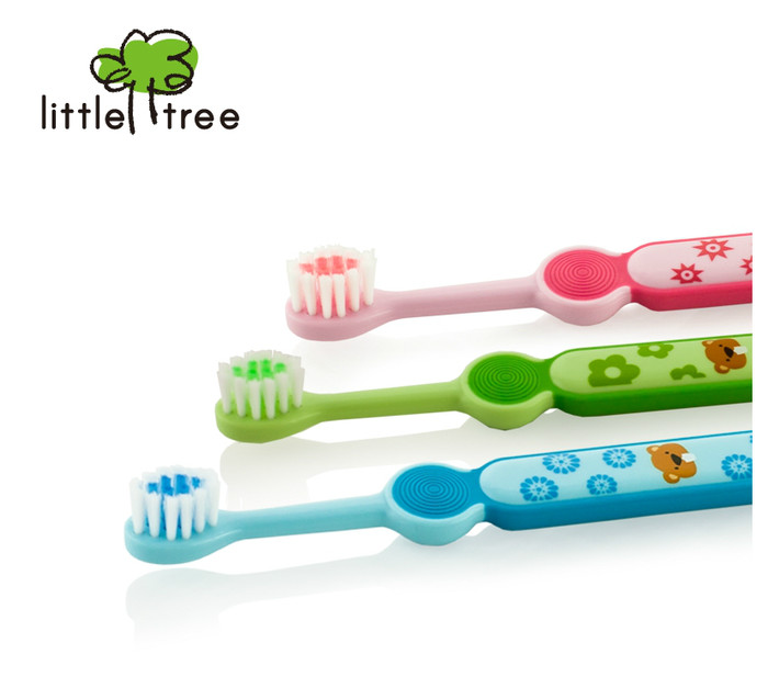 Jual (1-3 Tahun) Little Tree Toothbrush Sikat Gigi Anak Bayi Balita ... 4989e4d469