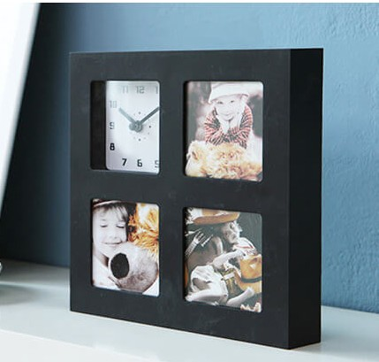 jam photo frame - black