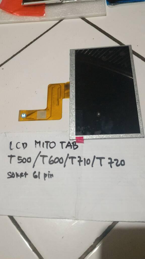 harga Lcd mito tab t500 t600 t710 t720 original Tokopedia.com