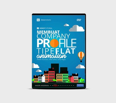 Foto Produk Video Tutorial Membuat Company Profile Tipe Flat Animation dari Ilmuwebsite