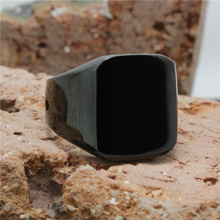 harga Cincin tengkorak fashion ring man stainless jewelry full black ring Tokopedia.com