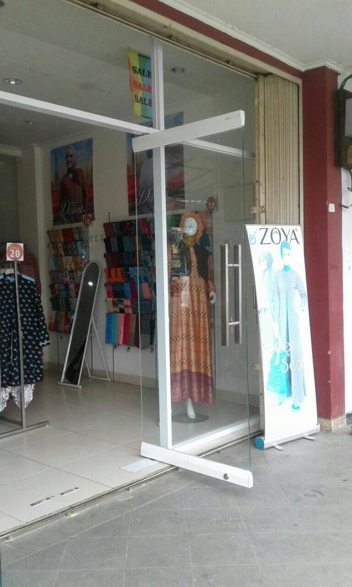 Jual Pintu Frameless Pintu Kaca Pintu Alumunium Floor Hinge Dekson Ykk Jakarta Utara Tokokacadanalumunium