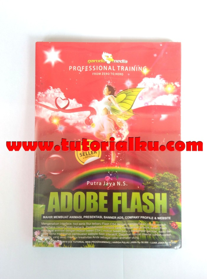 Jual Cd Tutorial Adobe Flash Ipos Trigonal Software Tokopedia