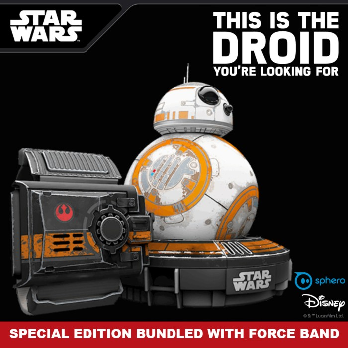Jual Star Wars BB-8 Special Edition With Force Band Bundle by Sphero ... ccbc315001