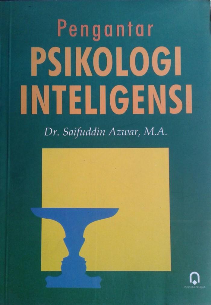 harga Buku pengantar psikologi inteligensi Tokopedia.com