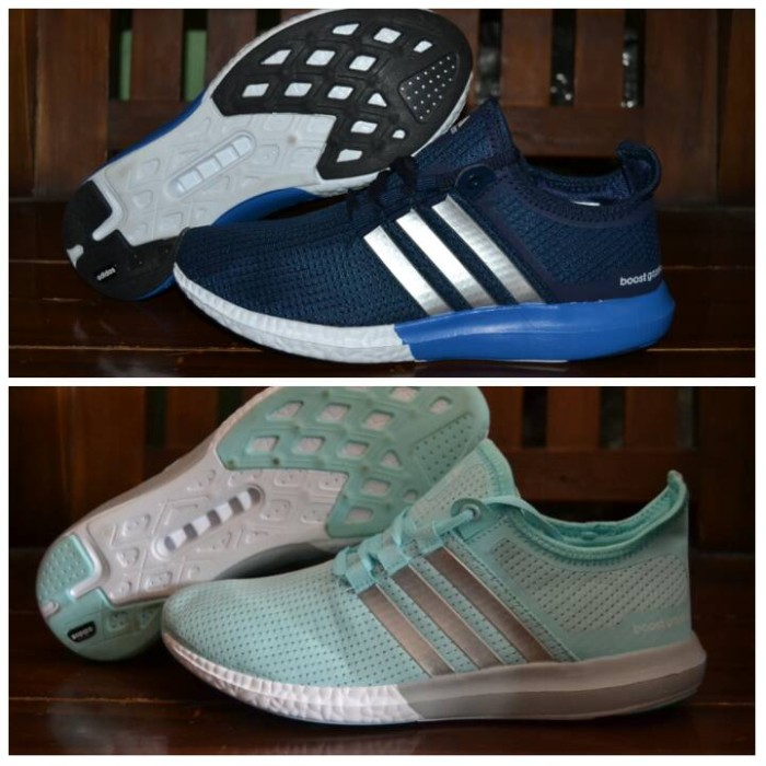 2533a9efc23d2 Jual sepatu adidas boost sonic slip on women premium terbaru murah ...
