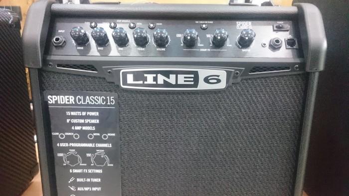 Jual Yamaha Line 6 Amplifier Spider V Classic 15 / Spider 15 / Spider15 -  Jakarta Timur - Toko Tempo Music | Tokopedia