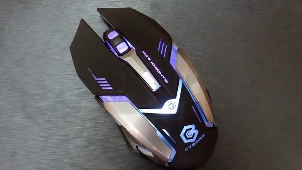 Jual Mouse Wireless Gaming Rechargeable Cyborg C1 Warknights ...