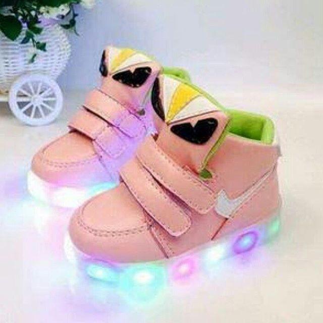 harga Sepatu anak little monster pink circle led sepatu bayi led import Tokopedia.com