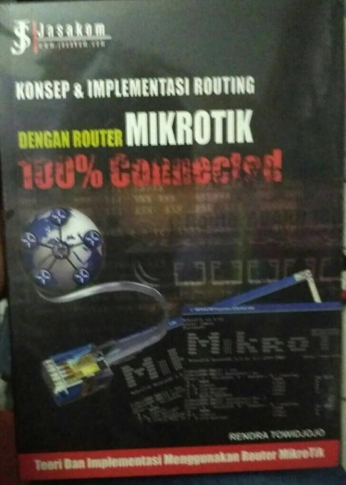 harga Konsep dan implementasi routing dengan router mikrotik Tokopedia.com