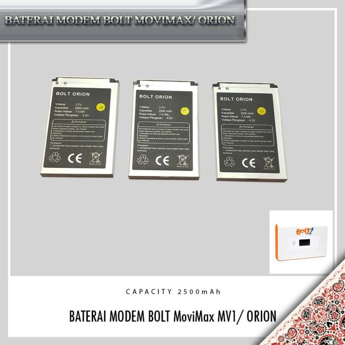 Jual BATERAI MODEM BOLT MOVIMAX MV1/ BATERAI BOLT ORION - DKI Jakarta -  Toko GadgetKu   Tokopedia
